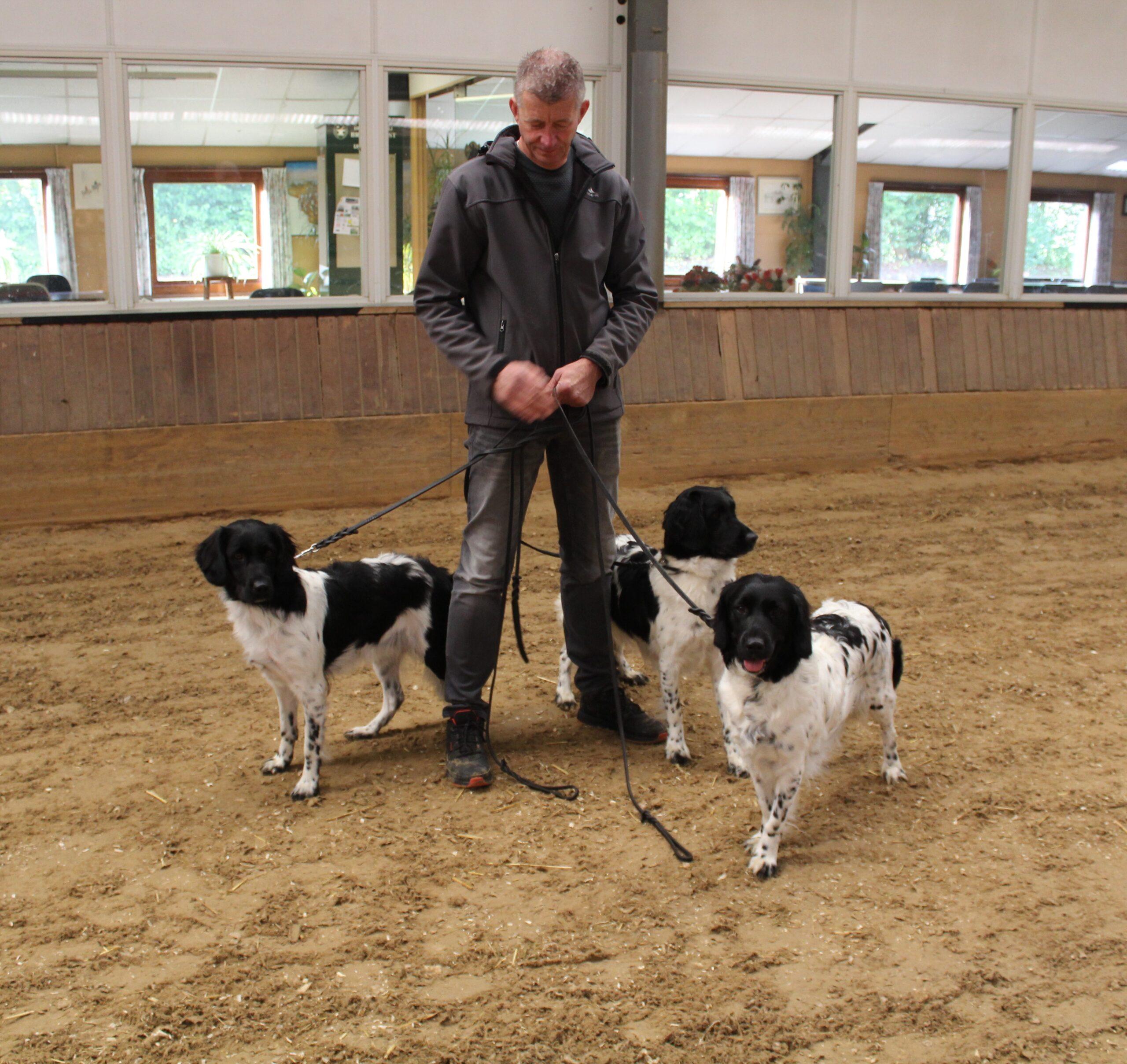 Wim met enkele Marrondale honden